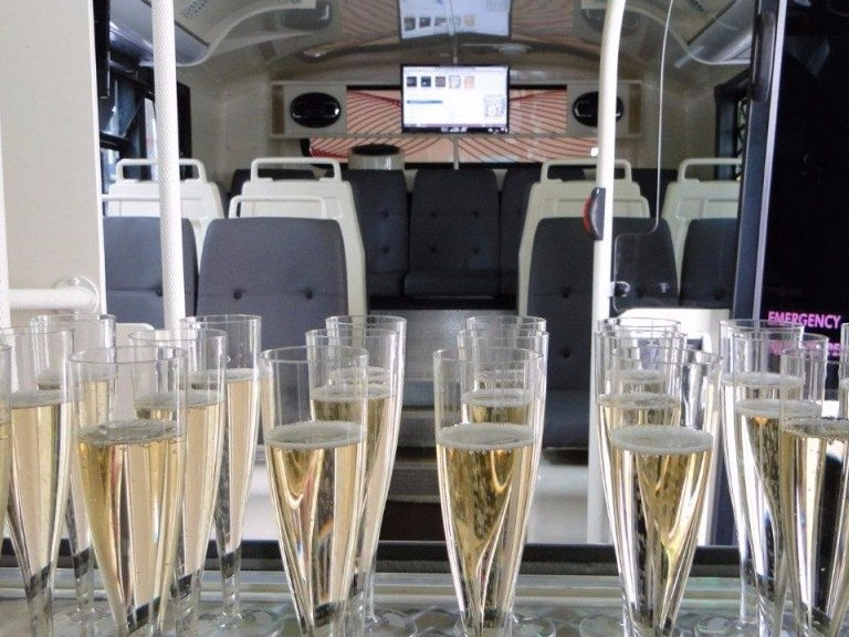 Corporate bus hire